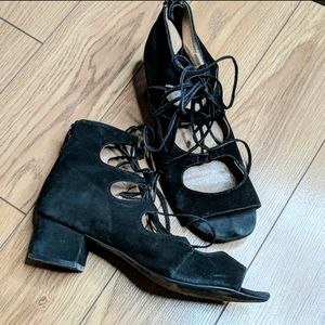 Jeffrey Campbell black shoes